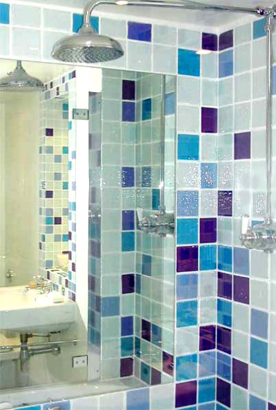 Bathroom Subway Tiles Colorful