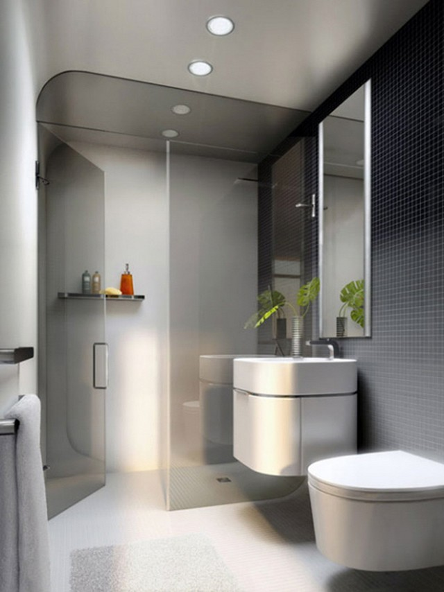 Free Brilliant Modern Small Bathroom Design With Modern Bathrooms.