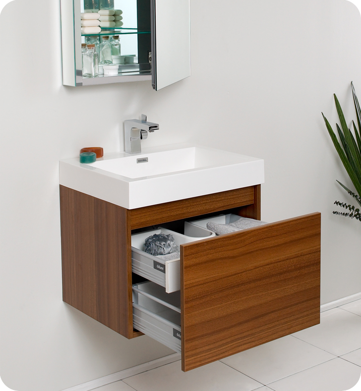 Small bathroom vanities to choose remodeling a bathroom for Double vanity for small bathroom